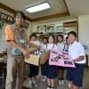 三江小学校から野田市へエール
